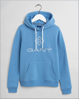 GANT Hoodie silver lake blue