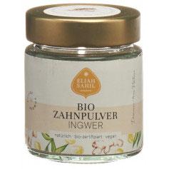 Bio Zahnpulver Ingwer