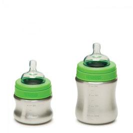 Babyflasche aus Edelstahl