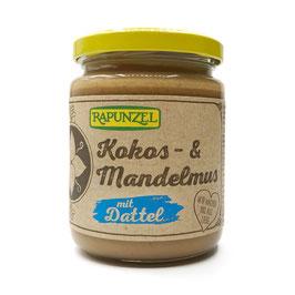 Kokos-Mandelmus mit Dattel