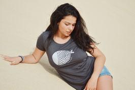 Camiseta antracita Pez Plata