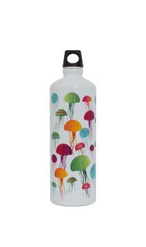 Botella de Aluminio Medusas 1L (LAKEN)