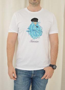 Camiseta Blanca Barbudo