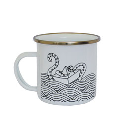 Taza Vintage The Sea Rules
