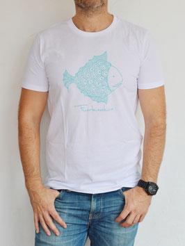 Camiseta pez turquesa