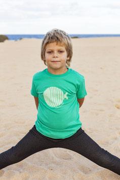 Camiseta Pez verde