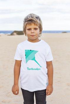 Camiseta Raya Marina