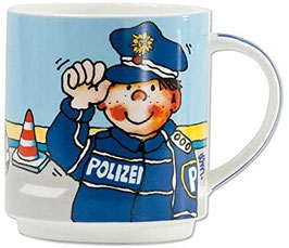 Stapeltasse 'PAUL DER POLIZIST'