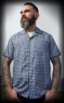 Rumble59 - Classic Shirt - Twill Karo Kurzarm-Hemd