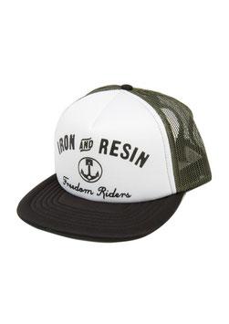 Iron & Resin Cap Depot black/olive