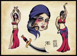 WildOne Tattoo- Flashsheet Orient