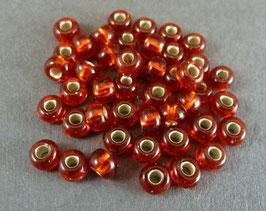 R26 Rot m. Silbereinzug; 4mm