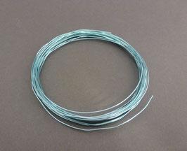 07 Wasserblauer Aluminiumdraht