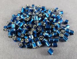 B03 Nachtblau Silbereinzg.; 2,5mm