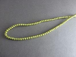 KK13 Wachsperle oliv 4mm