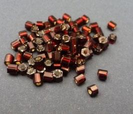 R07 Dunkelrot m. Silbereinz., 2,5mm