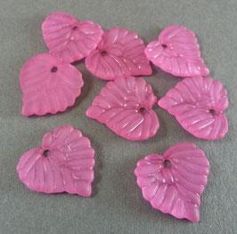 18 Acrylblatt Fuchsia matt