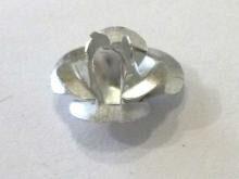 Ro04 Rose Silberfarben 16mm