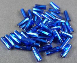 B24 Mittelblau Silbereinzg.; 7mm