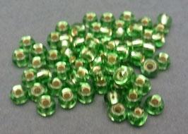 Gr19 Grün Silbereinzug; 3mm