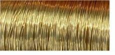 D4-02 goldfarben Messingdraht