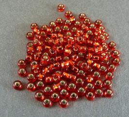 R27 Hellrot m. Silbereinzug; 2,5mm