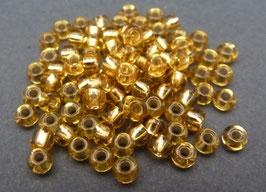 GC04 Gold Silbereinz.; 3mm