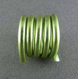 Alu 2mm (12) Blassgrün