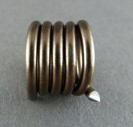 Alu 2mm (14) Dunkelbraun