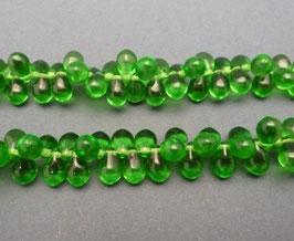 Tr15 Tropfenperlen Grün