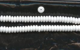 Na23 Scheibchen Weiß opak 6mm