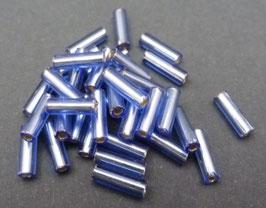 B49 Hellblau Silbereinzug; 7mm