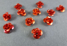 Ro03 Rose klein Rot 7mm