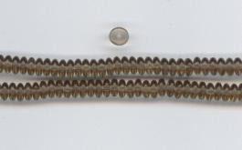 Na19 Scheibchen Nußbraun 6mm