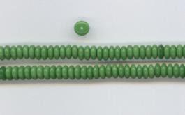 Na13 Scheibchen Grün opak  6mm