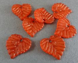 13 Acrylblatt Rot matt