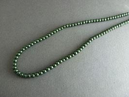 KK12 Wachsperle dunkelgrün 4mm
