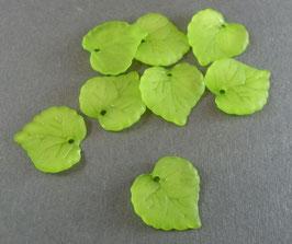 03 Acrylblatt Hellgrün matt