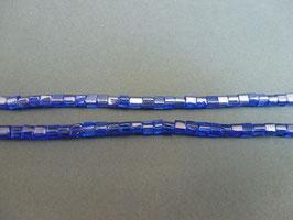 Wu15 Würfel Blau bedampft 4mm