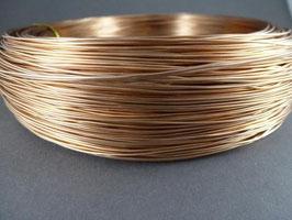 06 Kupferfarbener Aluminiumdraht