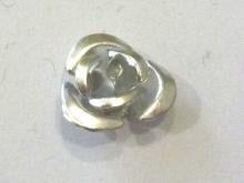 Ro05 Rose Silberfarben 12mm