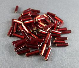 R21 Dunkelrot Silbereinzg.; 7mm