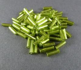 Gr49 Oliv Silbereinzug; 7mm