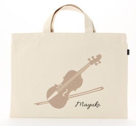 おなまえレッスンバッグ バイオリン