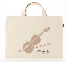 おなまえレッスンバッグ ヴァイオリン