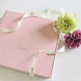 贈り先への直送 ピンクBOX   ※Sサイズ、バケツトート専用