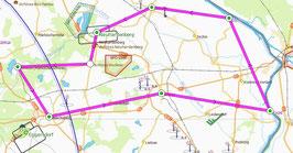 (1) Schloss Wulkow und Umgebung - 45 Minuten