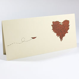 Loveletter - Postcard / Salute Card