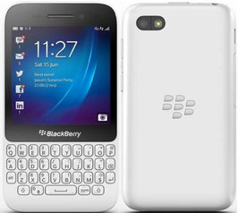 BLACKBERRY Q5 BLANCO