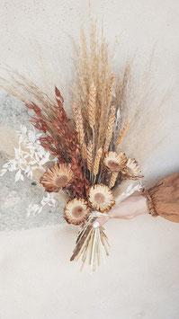 [Earthy Blossom] Trockenblumenbouquet